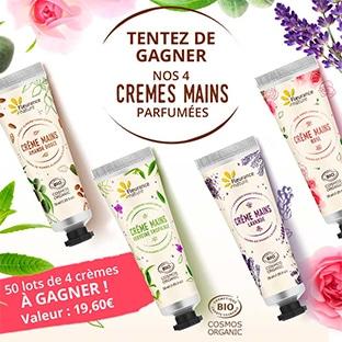 Jeu Fleurance Nature : 50 lots de 4 crèmes mains à gagner