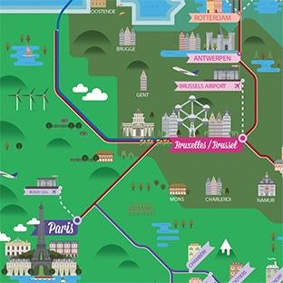 Jeu «Le voyage mystère» Thalys : 3 séjours et 35 lots à gagner