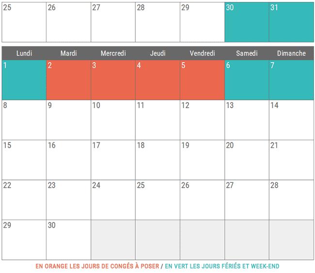Vacances Juin