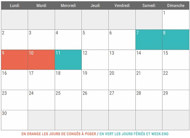 Vacances Novembre