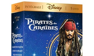 Promo Amazon : Coffret 5 DVD Pirates des Caraïbes à 13,99€