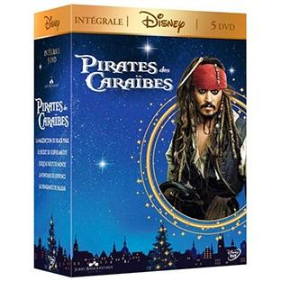 Promo Amazon : Coffret 5 DVD Pirates des Caraïbes à 13,99€