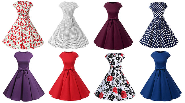 Jusqu'à 83% de remise sur des robes style Audrey Hepburn sur Amazon