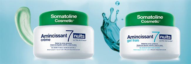 testez gratuitement un soin Amincissant 7 nuits de Somatoline Cosmetic