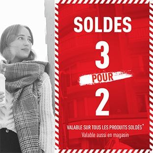 Soldes Pimkie jusqu'à -75% + 1 article offert pour 2 achetés