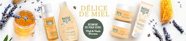 testez gratuitement la gamme Délice de Miel Le Petit Marseillais