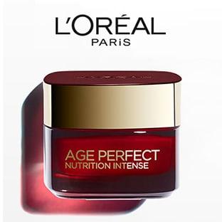 Test L'Oréal : 300 soins Age Perfect Nutrition Intense gratuits