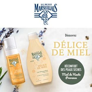 Test Le Petit Marseillais : 12'000 soins Délice de Miel gratuits