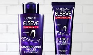 Test Elseve : Routines Color Vive Violet Déjaunisseur gratuites