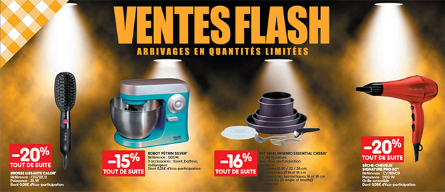Les ventes flash de Leader Price