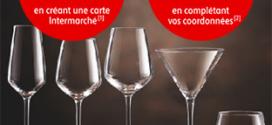 vignettes Cristal d'Arques gratuites sur le site Intermarche