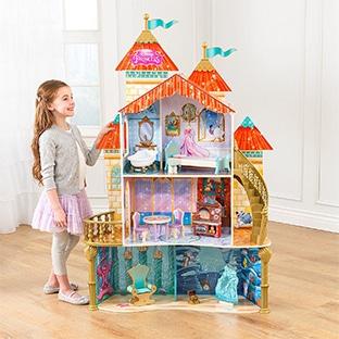 Bon plan : Maison de poupées Disney en bois pas chère