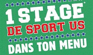 Burger King Bande2Kings Kool : Stage de sport US offert