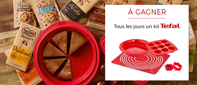 182 lots culinaires Tefal Proflex sur www.latableadessert.fr