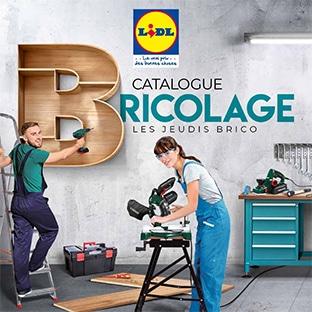 Catalogue Bricolage Lidl Les Jeudis Brico Outils à