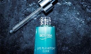 échantillons gratuits du soin Life Plankton Elixir de Biotherm