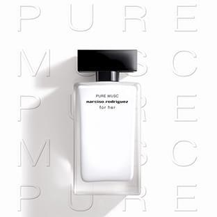 Échantillons gratuits du parfum Narciso Rodriguez For Her Pure Musc