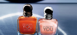 Echantillons gratuits des 2 parfums YOU d'Emporio Armani