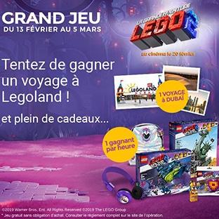 Jeu concours Lego de La Poste