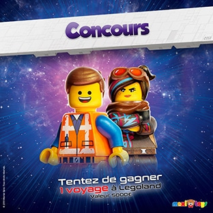 gagner des cadeaux Lego avec Maxitoys