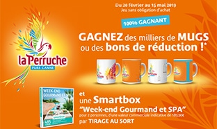 smartbox webcoupons mugs perruche à gagner