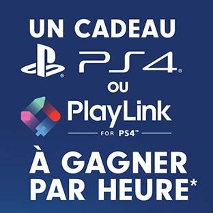 cadeaux PlayLink ou PlayStation avec Pringles