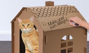 Action maison pour chat pas chere
