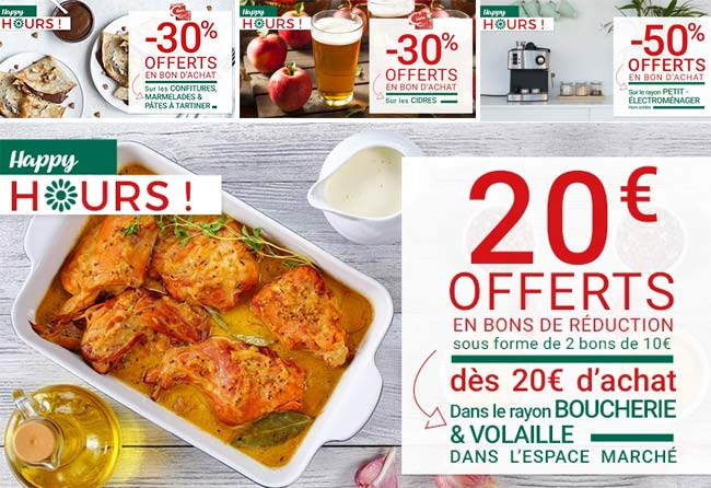 Les bons plans Happy Hours de Casino