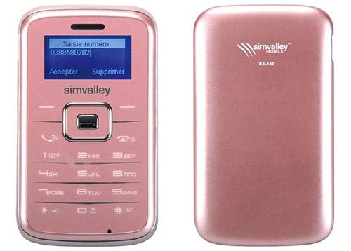 Téléphone portable Pico Inox RX-180 de SimValley gratuit
