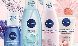 test gratuit soins visage Nivea