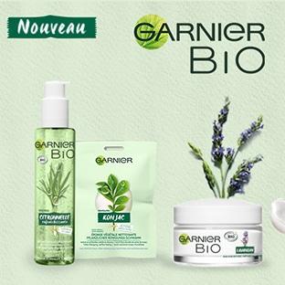 testez gratuitement rituel Garnier Bio avec Sampleo