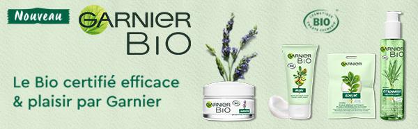 recevez gratuitement des cosmétiques GarnierBio avec Sampleo