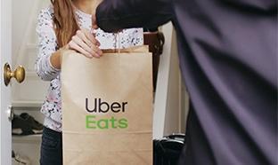 Vente Privée : 20€ de bons d'achat Uber Eats à 1€ seulement