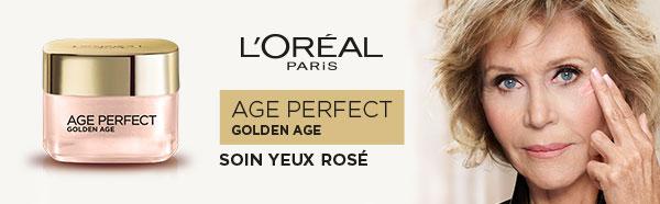 testez gratuitement le soin Yeux Rosé Golden Age Perfect