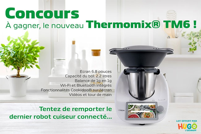 robot Thermomix TM6 à gagner