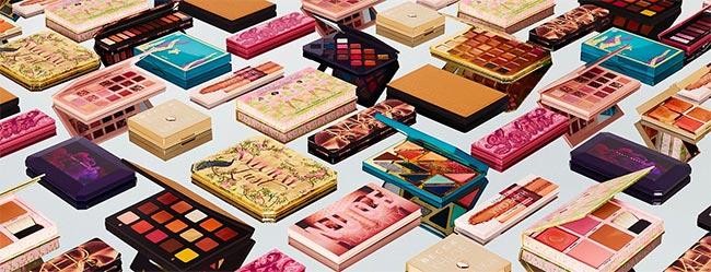 palettes de fards exclusifs offertes avec le jeu Sephora