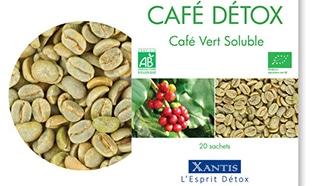 recevez gratuitement un échantillon offert Café Détox Xantis