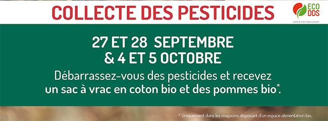 Ramenez vos pesticides et obtenez des pommes bio offertes