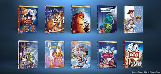 gagnez votre collection de 100 DVD Disney