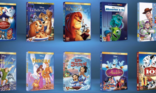 collection DVD Disney à gagner