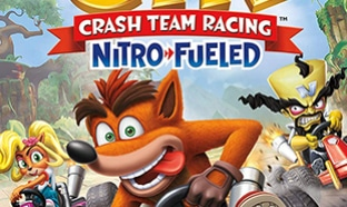 Jeu vidéo Crash Team Racing Nitro-Fueled Amazon pas cher