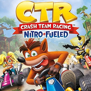 Jeu vidéo Crash Team Racing Nitro-Fueled Amazon pas cher