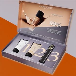 Échantillons Lancôme : Teint Idole Ultra Wear + mascara + sérum