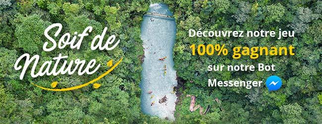 Concours 100% gagnant Soif de nature Teisseire : weekends et cadeaux à remporter