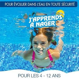 J'apprends à nager 2020 = cours gratuits