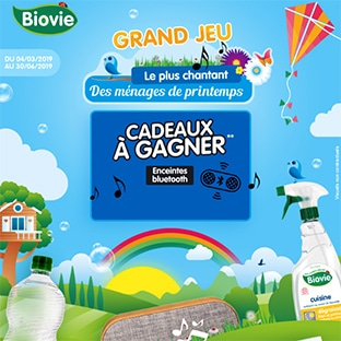 jeu Le plus chantant des ménages de printemps Biovie
