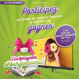 L'incroyable Anniversaire Carrefour Contact