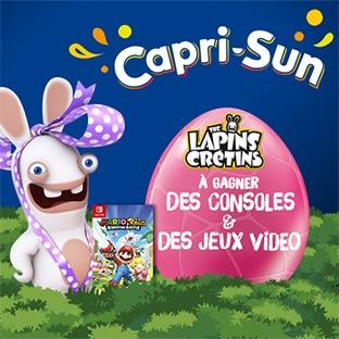 Jeu concours Capri-Sun