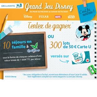 Magasins U Jeu Disney
