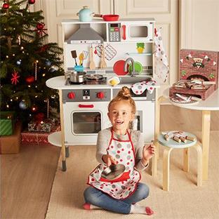 Lidl : Cuisine enfant en bois + accessoires pas chers